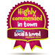 Highly commended in town